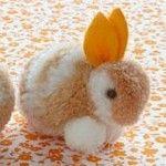 easter craft ideas bunny pom pom