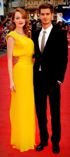 Emma Stone and Andrew Garfield dress, emma stone and andrew garfield
