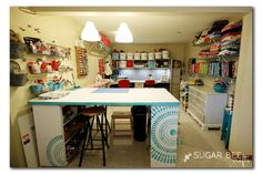 Craft Room Tour ~ Sugar Bee Crafts