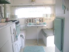 Cottage style camper remodel II A summer dream come true for my twins and I.... Some day....