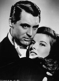 """Cary Grant and Katherine Hepburn in   """"Bringing Up Baby"""""""