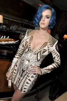Katy Perry Attends Hogan Dinner  Katy Perry