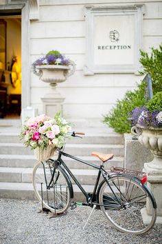 Vintage bicycle flowers shop home photography decor.