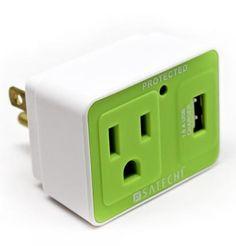Plug plus usb plug.