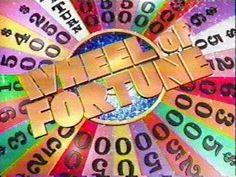 Wheel. Of. Fortune!