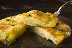 Recipe: Crisp potato cake (Galette de pomme de terre) || Photo: Francesco Tonelli for The New York Times