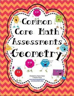grade math, classroom, geometry for second grade, common core math, grade geometri, educ, assessment, math assess, 4th grade
