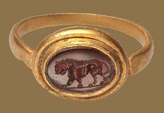ROMAN LION INTAGLIO Roman Empire, 2nd – 3rd century