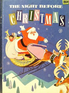 Vintage Christmas Kids Books | Flickr - Photo Sharing!