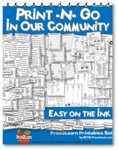 OUR COMMUNITY (PRINT-N-GO) B&W ACTIVITIES! Enter for your chance to win 1 of 5.  OUR COMMUNITY (PRINT-N-GO) B&W ACTIVITIES (52 pages) from RFTS PreK-Kindergarten on TeachersNotebook.com (Ends on on 8-26-2014)  OUR COMMUNITY (PRINT-N-GO) B&W ACTIVITIES - Prepare for Labor Day with these fun and easy activities. A Community Helper Pack that's easy on your printer and ready to go. Have fun!