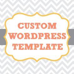 Custom Wordpress Template Design with by LittleWebWritingHood, $85.00