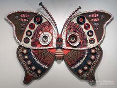 © Michelle Stitzlein | Found object sculpture