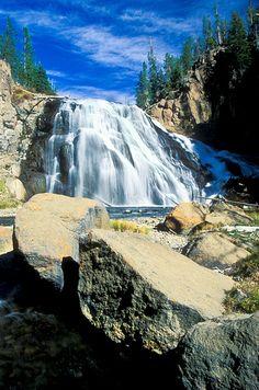 Gibbon Falls, Yellowstone National Park.