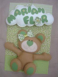 ENFEITE COM PLACA DE FUNDO - 90,00