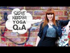 Yoga QA: Sadie Nardini's Gluten Free Protein Diet?