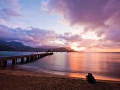 honeymoon, favorit place, hanalei bay, hawaii travel, bays, sunset, kauai hawaii, beach vacations, hawaiian island