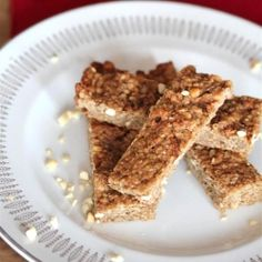Peanut Buttery Pretzel Granola Bars
