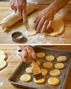 hams, buttermilk biscuit, food, breakfast, bread, eat, recip, biscuits