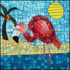 brenda-flynn-flamingo-12x12x2-paper-mosaic-on-canvas ..... http://www.staugustineart.net/brenda-flynn-flamingo-12x12x2-paper-mosaic-on-canvas--free12122.html
