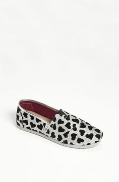 TOMS 'Hearts' Slip-On (Toddler, Little Kid & Big Kid) available at #Nordstrom