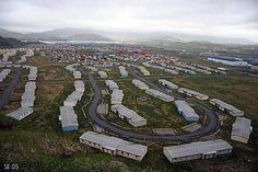 Adak Alaska...where I lived before I came to Rockingham.  Man I miss it!