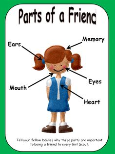 Girl Scout Daisy Between Earth and Sky Blue Bucket Patch ... talking about feelings and friendship Violet Petal Activity