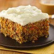 Carrot Cake recipe from Betty Crocker