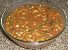 Dr. Fuhrman Black Bean Soup