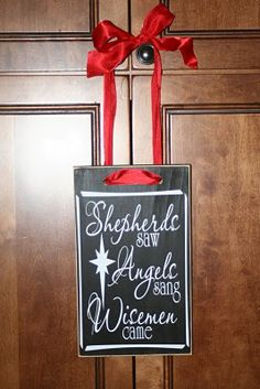 Lovely christmas sign