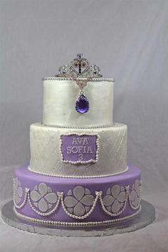 Sofia Princess cake