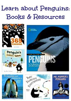 Enlightening books, wonderful web cams and more fun ways to learn about penguins!