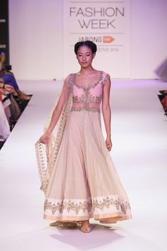 Anarkali by Anushree Reddy at Lakme Fashion Week 2014