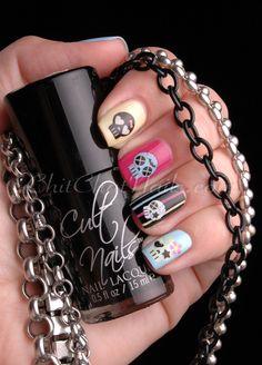 Skulls #nails
