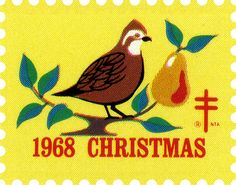 Christmas Seals stamp ✿ 1968