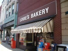 "Louie's Bakery  144 W Michigan Ave   Marshall, MI 49068  One of those childhood nostalgic places that you believe with every ounce of your being has the best nutrolls and ""pink"" cookies you ever tasted."