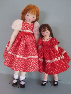 Little Edith Flack Ackley Pattern Doll Just Nine by dollways2