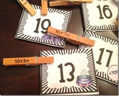 Owl-ways Be Inspired: Clothespin Math: How I Use It!