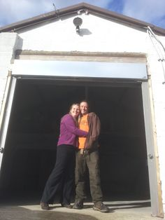 Just got the keys to our new premises.... The entrance to Woolley Wonkaland
