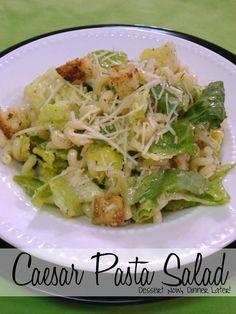Caesar Pasta Salad on MyRecipeMagic.com