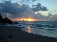 Sunset in St. Lucia 10/2010