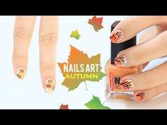 Diseños de uñas otoño | Autumn nails art