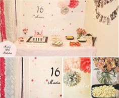 sweet 16 birthday party by www.fancyparties.es