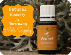 Natural Remedy for Increasing Milk Supply #essentialoils