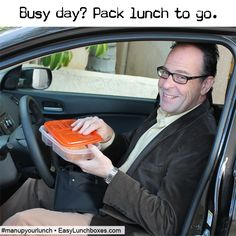 On the road? Take packed meals and snacks │man up your lunch