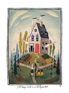 Julia Sarda illustration from 'Alice's Adventures in Wonderland'.