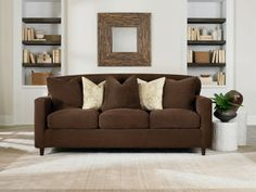 Our Most Custom Fit Ever: Introducing Slipcovers With  Individual Cushion Covers And Adjustable Arm Fits for your sofa, loveseat and chairs.