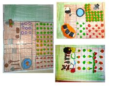 Area and Perimeter gardens with modelling clay.