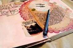 An article on art journaling: a tool for insight