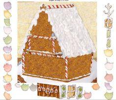 Jan Brett Site: decorate a Gingerbread House