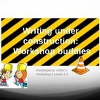 "This lesson is second in Lucy Calkin's second unit of study for Kindergarten. At my school, we have themed the second unit with ""Writing Under Cons... school"